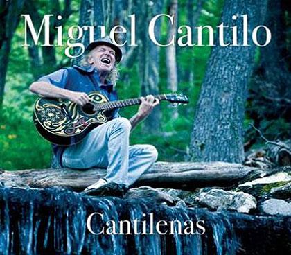 Portada del disco «Cantilenas» de Miguel Cantilo.