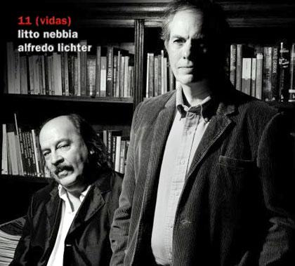 Portada del disco «11 (vidas)» de Litto Nebbia.
