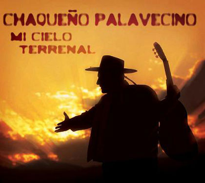 Portada del disco «Mi Cielo Terrenal» del Chaqueño Palavecino.
