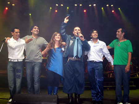 Soledad Pastorutti, Chaqueño Palavecino y Los Nocheros son, como cada año, los principales protagonistas delos festivales de verano en Argentina.
