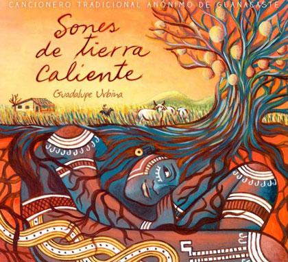 Portada del disco «Sones de Tierra Caliente» de Guadalupe Urbina.