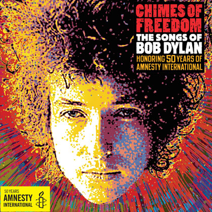Portada del disco «Chimes of Freedom: The Songs of Bob Dylan»