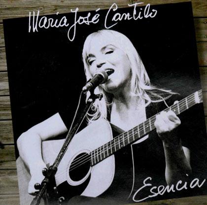 Portada del disco «Esencia» de María José Cantilo.