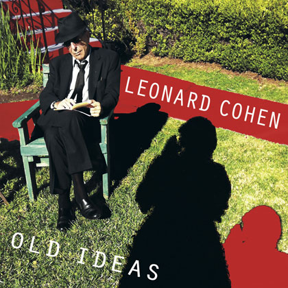 Portada del disco «Old ideas» de Leonard Cohen.