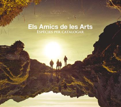 Portada del disco «Espècies per catalogar» de Els Amics de les Arts.