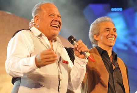 Cacho Buenaventura invitó a Jairo para cantar juntos «Virgen india». © Pedro Castillo/La Voz