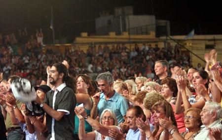 El público en Cosquín. © Cadena 3
