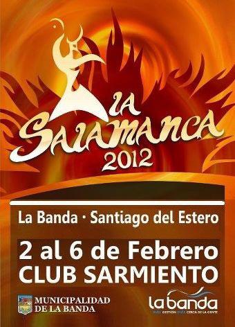 Cartel del 21 Festival de La Salamanca 2012