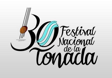 Cartel del 30 Festival Nacional de la Tonada 2012.