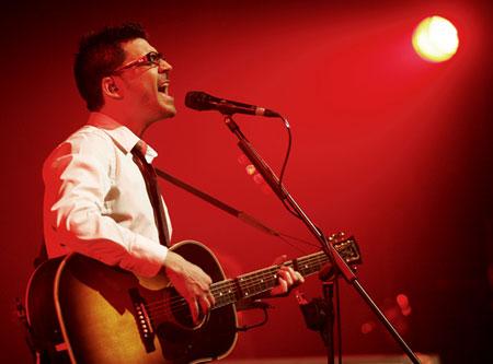 Dani Flaco grabó su primer disco en directo en el BarnaSants. © Juan Miguel Morales