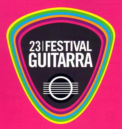 Logo del 23 Festival de Guitarra de Barcelona.