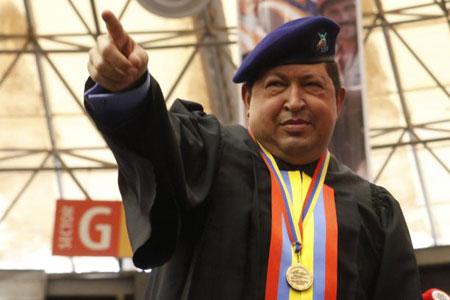 El mandatario venezolano, Hugo Chávez Frías. © AVN