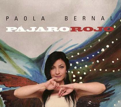 Portada del disco «Pájaro rojo» de Paola Bernal.