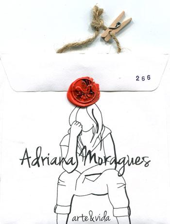 Portada del disco «Arte&Vida» de Adriana Moragues.