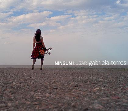 Portada del disco «Ningún lugar» de Gabriela Torres.
