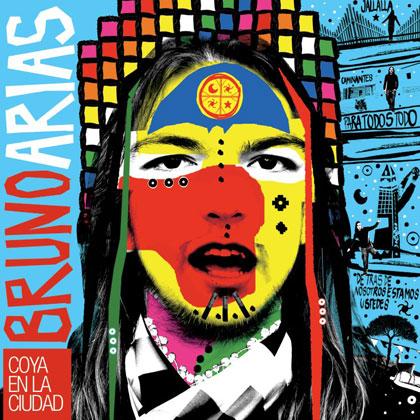 Portada del disco «Coya en la ciudad» en Bruno Arias.