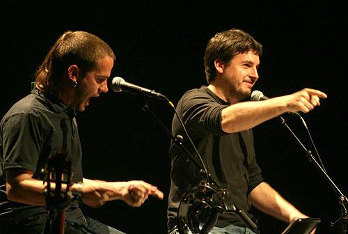 Cesk Freixas y Pau Alabajos. © Xavier Pintanel