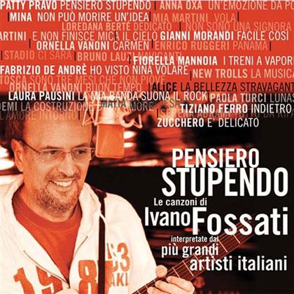 Portada del disco «Pensiero stupendo» de Ivano Fossati.