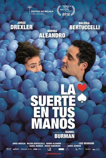 Cartel de la película «La suerte en tus manos» de Daniel Burman.
