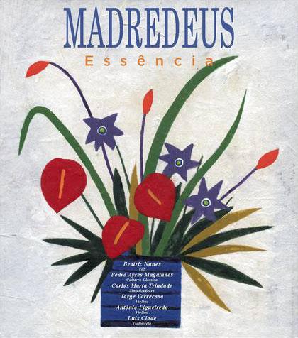 Portada del disco «Essência» de Madredeus.