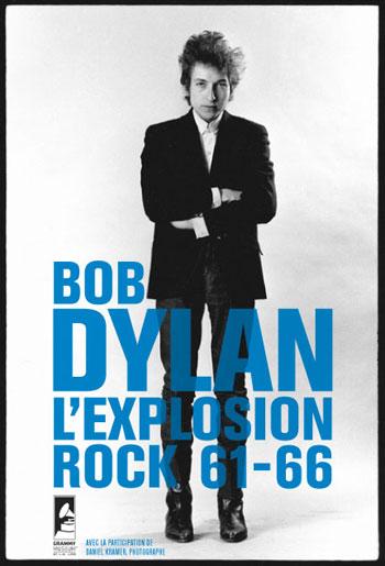 Cartel de la exposición «Bob Dylan, L'explosion Rock 61-66».