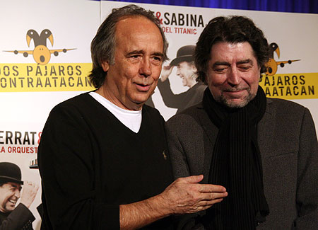 Joan Manuel Serrat y Joaquín Sabina. © Xavier Pintanel