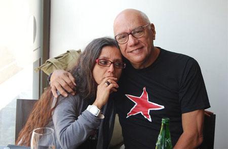 María Santucho y Víctor Casaus.