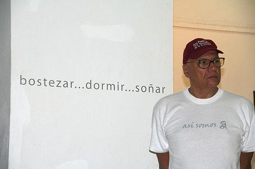 Víctor Casaus, Director del Centro Pablo de la Torriente Brau, ganador del Premio al Activismo Cultural.  © Xavier Pintanel