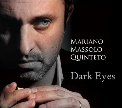 Portada del disco «Dark Eyes» de Mariano Massolo.