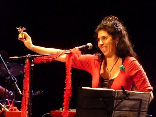 Rossana Taddei en el Teatro Macció. © Josep Maria Hernández Ripoll