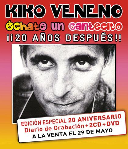 Kiko Veneno reedita «Échate un cantecito» veinte años después.