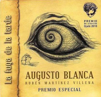 Presentación del disco «La fuga de la tarde» de Augusto Blanca.