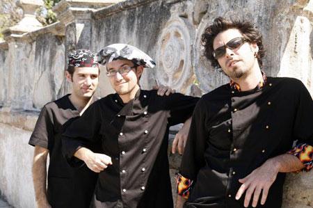 José Recacha, Daniel Escortell y Javi Ruibal: Glazz.