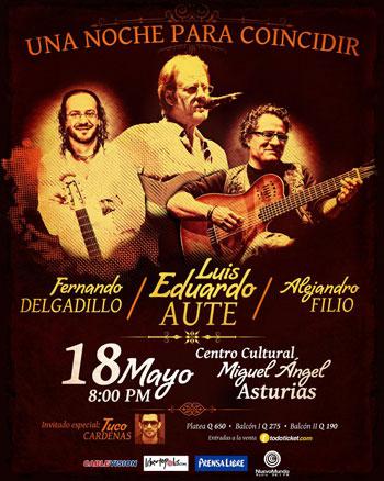 Cartel del concierto «Una noche para coincidir»