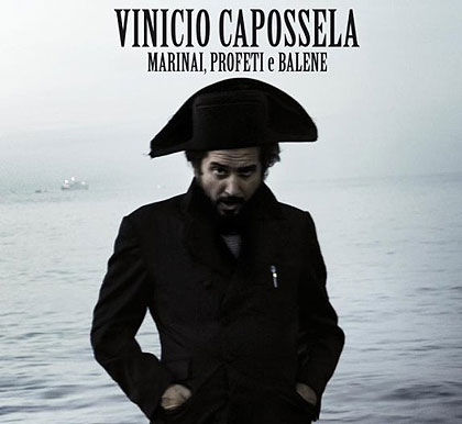 Portada del disco «Marinai, profeti e balene» de Vinicio Capossela.