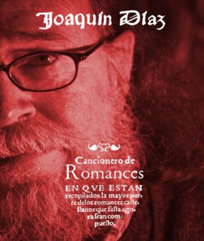 Portada de la reedición del disco «Cancioneros de romances» de Joaquín Díaz.