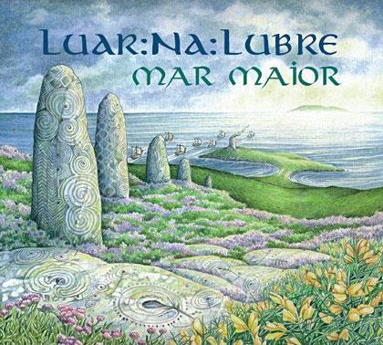 Portada del disco «Mar Maior» de Luar Na Lubre.