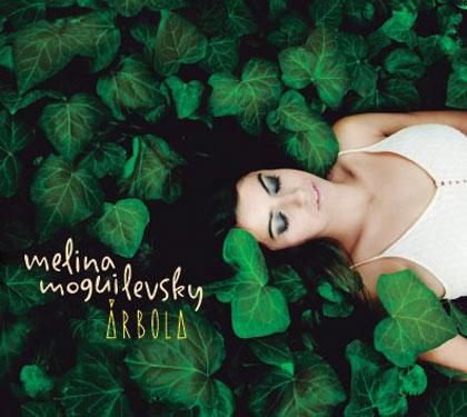 Portada del disco «Árbola» de Melina Moguilevsky
