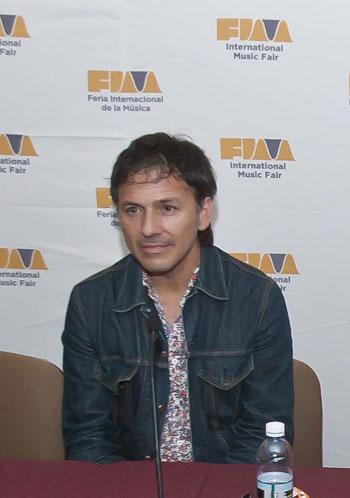 Daniel Cros en una rueda de prensa del FIM © Prensa FIM