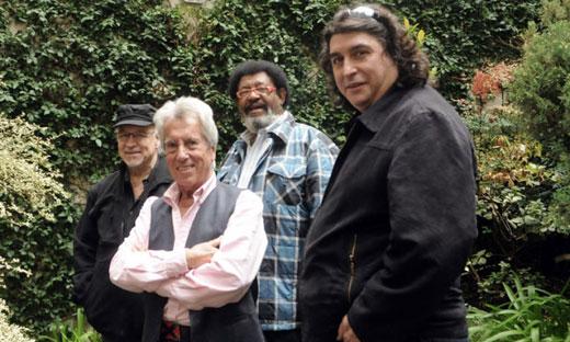 Gustavo Bergalli, Jorge Navarro, Rubén Rada y Luis Salinas.