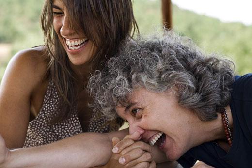 Lídia Pujol y Mayte Martín. © Isabel Camps