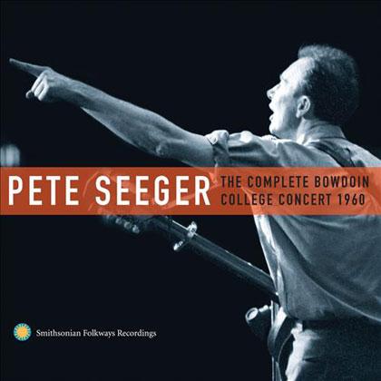 Portada del disco «The Complete Bowdoin College Concert 1960» de Pete Seeger.