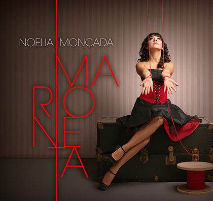 Portada del disco «Marioneta» de Noelia Moncada.