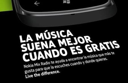 El cartel de la polémica campaña de Nokia