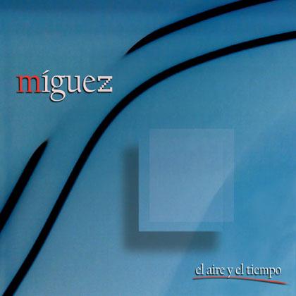 Portada del disco «El aire y el tiempo» (2010) de Manu Míguez.