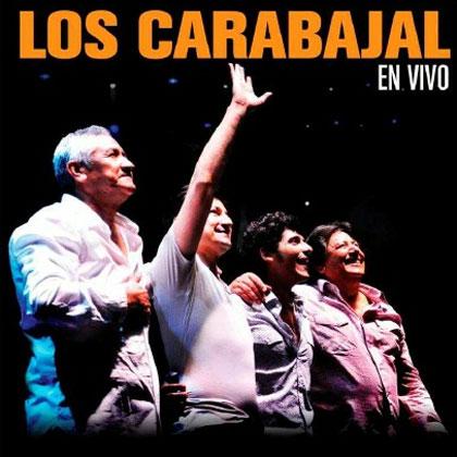 Portada del disco «Los Carabajal en vivo».