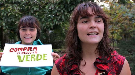 Camila Moreno en el video promocional de su campaña de «crowdfunding».