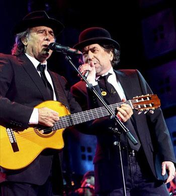 Joan Manuel Serrat y Joaquín Sabina © EFE