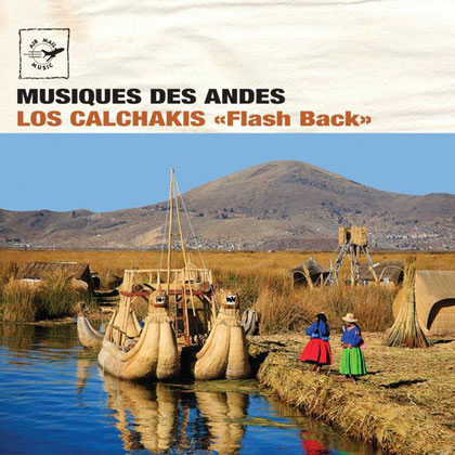 Portada del disco «Flash Back» de Los Calchakis.
