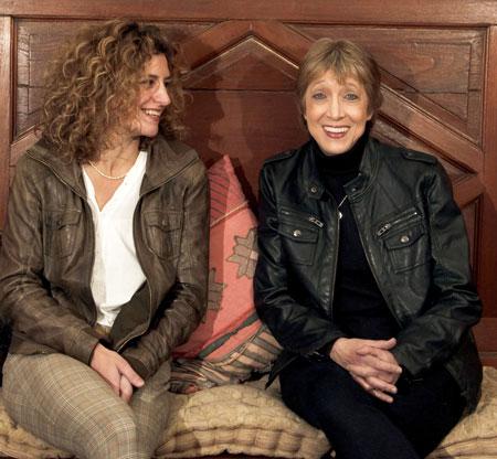 Ana Prada (izquierda) y Teresa Parodi (derecha).
